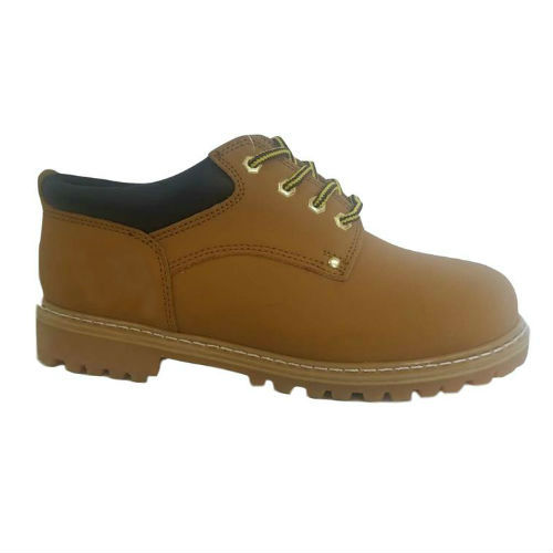 Tan Action  Nubuck Leather Upper Goodyear Welt Basic 4 Inches Casual Boot