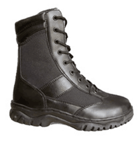 Action Leather+Nylon Upper Military Work Boots