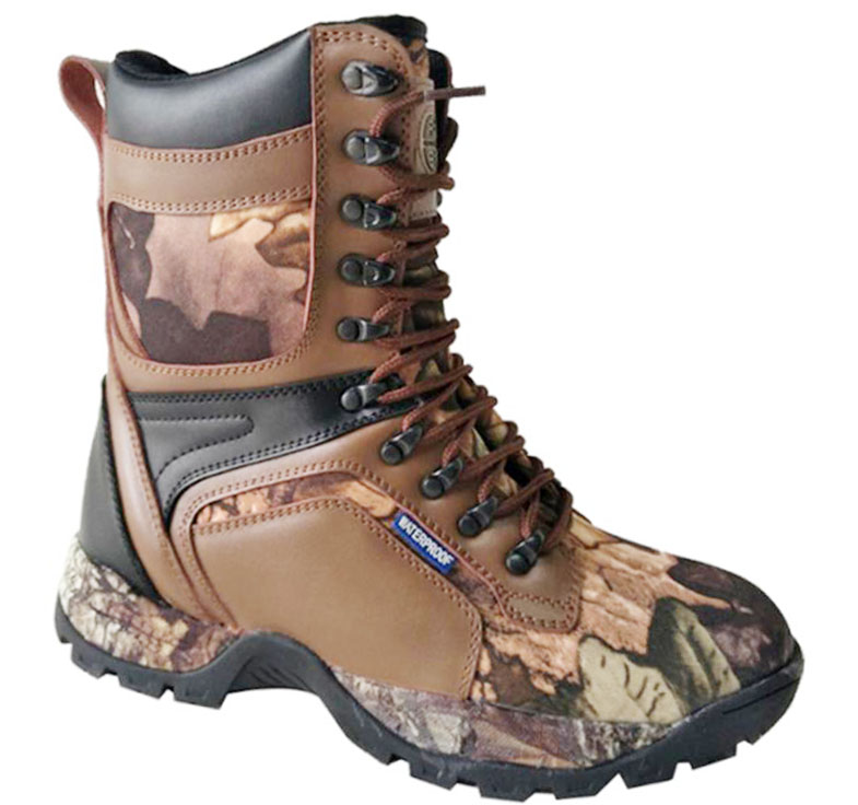 Action Leather+Camo Leather Upper Cemented Basic 8 inches Hunting Boots