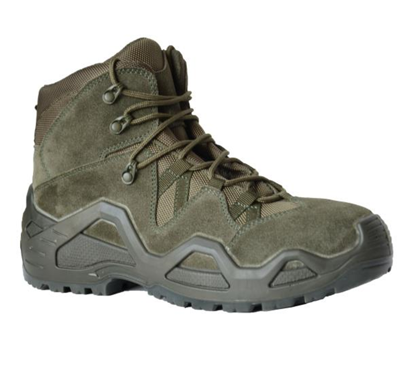 Suede Leather Waterproof Hiking Boot Safety Work Boot